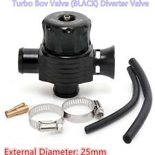 Turbo Aluminum 25mm Black Diesel Blow Off Valve /Dump Valve BOV kits Turbo