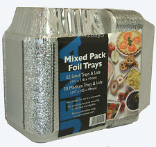 95 Tin Foil Food Trays Chinese Takeaway Containers New uk Chineese