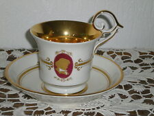 TASSE A THE EN PORCELAINE PIRKENHAMMER STYLE EMPIRE N°1