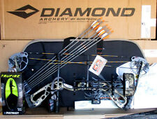 NEW 2017 Diamond by Bowtech Infinite Edge SB-1 Camo BOW Package RH 7-70# 15-30""