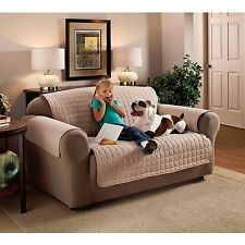 Innovative Textile Solutions Quilted Microfiber Sofa Furniture Protector