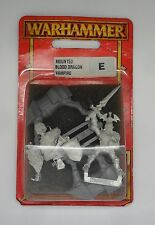 WARHAMMER fantasy vampire counts MONTATO SANGUE DRAGO VAMPIRO 1 in BLISTER 2000
