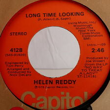 HELEN REDDY Long time looking / ain't no way to treat a lady 4128 CAPITOL