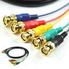 1.8M 6ft 6 FT 24 + 5 pin DVI - I to 5 RGB RGBHV BNC CABLE HDTV New
