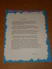 Junior Campbell 1976 Rocket Records Press Release