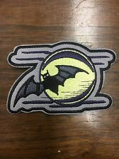 Bat And Full Moon Patch, Inspired By Nikki Sixx Tattoo, Motley Crue, Sixx AM
