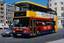 metal sign 581040 bristol city line olympian 9644 on a cross city route 1994 a4