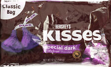 Hershey's Kisses, Special Dark Chocolate Classic Bag 340g Imported Chocolate