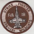 VFA-131 WILDCATS DESERT SHOULDER PATCH