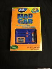 Mad Gab To Go Games Puzzle New