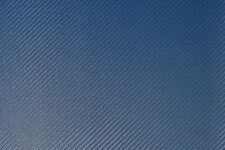 Carbon Fiber - Pacific Blue, Marine-Grade Vinyl Leatherette fabric