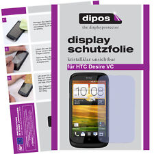 1x HTC Desire V screen protector protection guard crystal clear