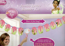 TIANA LETTER BANNER DECORATION Disney Princess &  Frog birthday party supplies