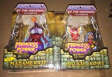 Masters of the Universe Classics Madame Razz + Loo-Kee & Kowl MOC NEW She-Ra