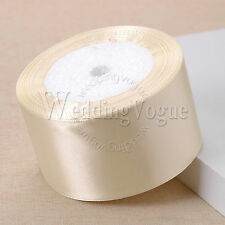 25yards 6 to 50mm Width Satin Ribbon Roll Bow Wedding Party DIY Craft Decoration