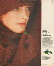 Publicité 1974  Pastilles VALDA à l'extrait de menthe et d'eucalyptus médicament