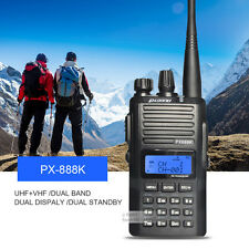 Puxing PX-888K UHF & VHF Dual Band Walkie Talkie Two Way Radio Transceiver