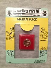 Magical Block - Penny to Dime - Phantom Penny / Coin - Close-up Coin Magic