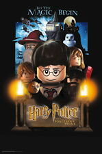 "101 LEGO Harry Potter Sorcerers Stone 14""x21"" Poster"