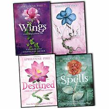Aprilynne Pike Laurel 4 Books Collection Set Wings Wild Destined Spells New PB