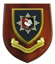 BUCKINGHAMSHIRE FIRE AND RESCUE CLASSIC HAND MADE IN UK MESS PLAQUE