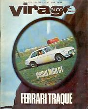 VIRAGE Auto numéro 5 . Mai 1966 .