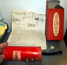 1950s vintage DEVIL DOG ALARM, new in box w instructions, great collectible