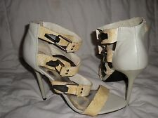 BEBE STRAPS SANDAL SHOES  SIZE 9 ADD THESE SHOES TO YOUR COLLECTION!!