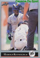 038   HAROLD REYNOLDS    SEATTLE MARINERS  BASEBALL CARD LEAF 1992