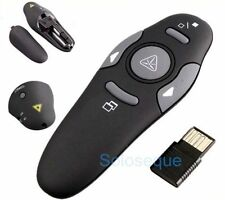 PUNTERO LASER PRESENTADOR POWERPOINT Wireless USB Presenter Laser Pointer Pen <>