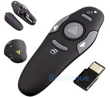 PUNTERO LASER PRESENTADOR POWERPOINT Wireless USB Presenter Laser Pointer Pen