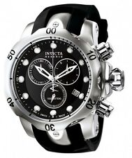 @NEW Invicta Reserve Men's Subaqua Venom Swiss Made Chronograph Black 6110