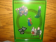 Disney Pixar BRAVE Collection 5 Pin Set LE 250 Merida And Her Royal Court *New*