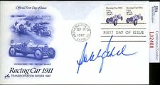 BOBBY RAHAL JSA AUTHENTICATED SIGNED FDC AUTOGRAPH