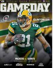 2016 NEW YORK GIANTS GREEN BAY PACKERS NFC WILD CARD PROGRAM BECKHAM RODGERS