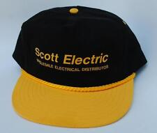 """Scott Electric"" ""WHOLESALE ELECTRICAL DISTRIBUTOR"" Adjustable Baseball Cap Hat"