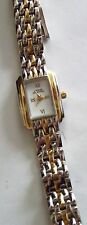ANNE KLEIN II Watch - Two Toned Square Woven Band