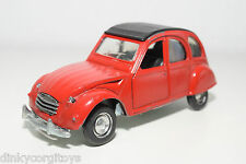 POLISTIL S219 S 219 S-219 CITROEN 2CV 2 CV RED EXCELLENT CONDITION
