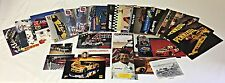 Lot of 28 1990's Racing Photos ~ NASCAR, INDY. DRAG RACING, FORMULA 1