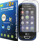 2x Anti-Glare Matte LCD Screen Protector Guard Cover For LG Extravert II 2 VN280