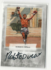 Roberto Duran 2011 Ringside Boxing Round 2 Certified Autograph Card Auto #A-RD2