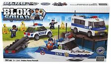 Mega Bloks Blok Squad 2441: Police Force Pursuit - Brand New