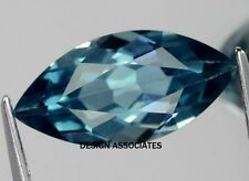 LONDON BLUE TOPAZ NATURAL 8X4  MM MARQUISE CUT AAA