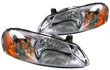 New Replacement Headlight Assembly PAIR / FOR 2001-06 STRATUS & 2001-03 SEBRING