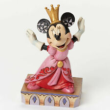 Jim Shore Disney Traditions Minnie Mouse Queen For A Day 4048655 Crown Gown NIB