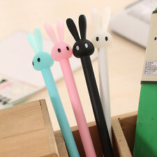 4pcs/Lot Cute Rabbit Ball Point Pen Ballpoint Creative Stationery Student