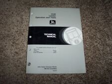 John Deere 244E Loader Operation & Test Service Repair Technical Manual TM1502