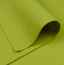 """9""""x18"""" Apple Green Wool Felt Fabric / quilting toy card making Christmas pale"""