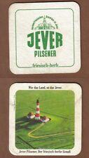 BD - Bierdeckel - Beermat , Brauerei JEVER , Jever / Niedersachsen