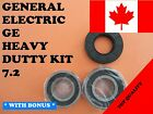 FRONT LOAD WASHER,2 TUB BEARINGS AND SEAL, GE,GENERAL ELECTRIC,KIT # 7.2